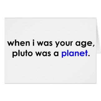 ¿Plutón era un planeta?!? Felicitacion