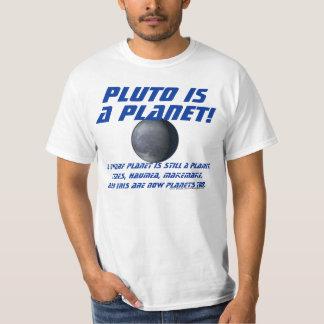 ¡Plutón es un planeta! Camisas