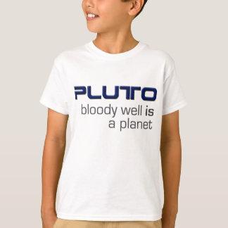 Plutón es una camiseta del planeta