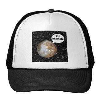 PLUTÓN: ¡ESTARÉ DETRÁS! ~ (de la Sistema Solar) Gorro De Camionero