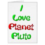 Plutón Felicitacion