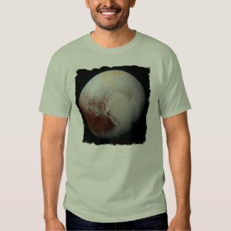 Plutón - la camiseta enana más grande del planeta poleras