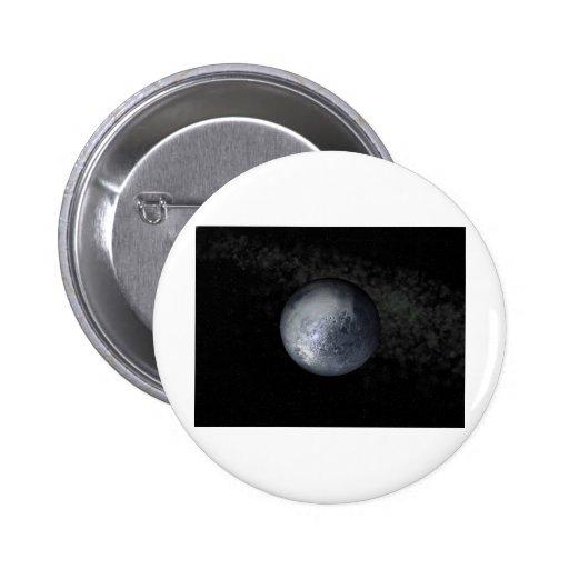 Plutón Pin Redondo 5 Cm