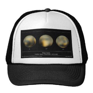 Plutón reflejado por el telescopio espacial de Hub Gorro De Camionero