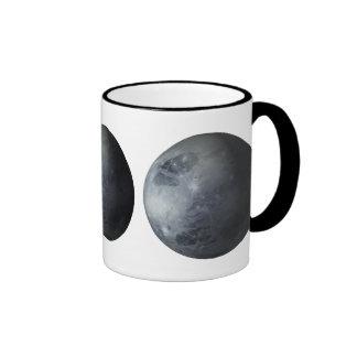 Plutón Taza De Dos Colores