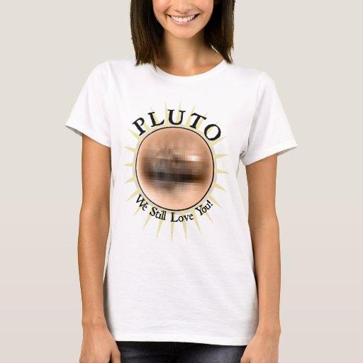 Plutón - todavía le amamos playera