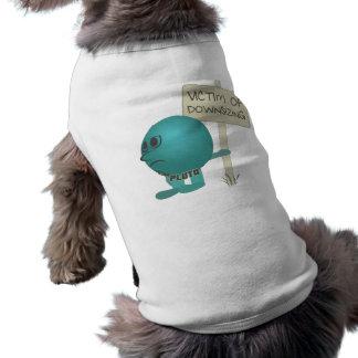 Plutón Víctima de la reducción de la talla Ropa Perro