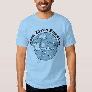 Plutón vive para siempre camisas
