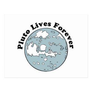 Plutón vive para siempre postales