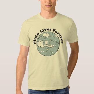 Plutón vive para siempre remera