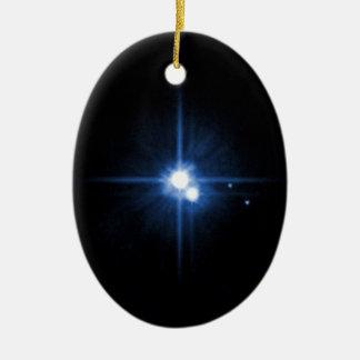 Plutón y Charon Ornamento De Reyes Magos