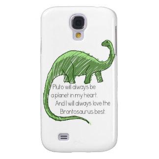 Plutón y el Brontosaurus Funda Para Galaxy S4