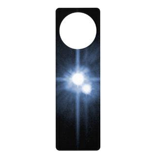 Plutón y sus lunas Charon, Nix, y hydra Unlab Colgantes Para Puertas