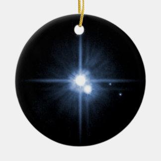 Plutón y sus lunas Charon, Nix, y hydra Unlab Ornamente De Reyes