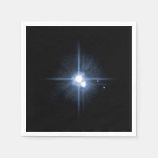 Plutón y sus lunas Charon, Nix, y hydra Unlab Servilleta Desechable