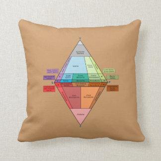Plutonic Rock QAPF Diagram Pillow