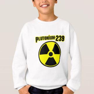 plutonium239 radiation symbol sweatshirt