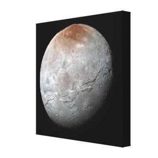 Pluto's Largest Moon: Charon Canvas Print