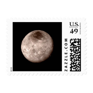 PLUTO'S MOON CHARON (solar system) ~.jpg Postage