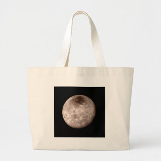 PLUTO'S MOON CHARON (solar system) ~ Large Tote Bag