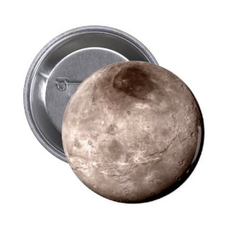PLUTO'S MOON CHARON (solar system) ~.png 2 Inch Round Button