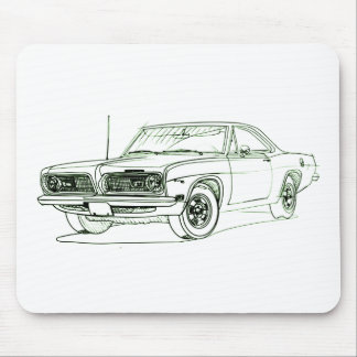 Ply Barracuda 1969 Mouse Pad