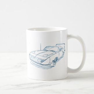 Ply Superbird 1970 Coffee Mug