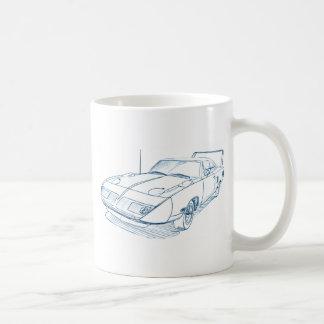 Ply Superbird 1970 Classic White Coffee Mug