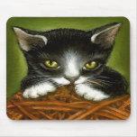 Plyaful kitten mousepad