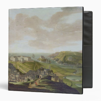 Plymouth 1673 oil on canvas vinyl binder