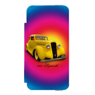 PLYMOUTH 1935 FUNDA BILLETERA PARA iPhone 5 WATSON