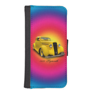 PLYMOUTH 1935 FUNDA TIPO BILLETERA PARA iPhone 5