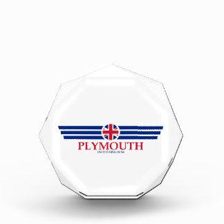 Plymouth Acrylic Award