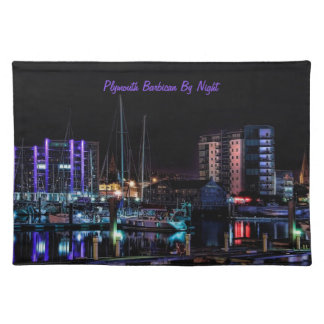 Plymouth Barbican View Cloth Place Mat