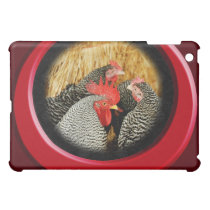 Plymouth Barred Rock Chickens Ipad Case