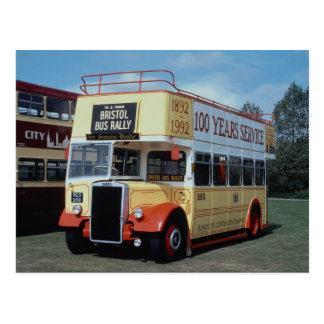 "Plymouth Corp. Leyland """"Opentop"""" in Centenary li Postcard"