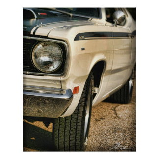 Plymouth Duster 340 Four Barrel Poster