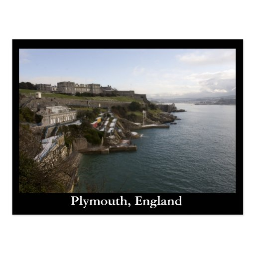 Plymouth, England Post Card