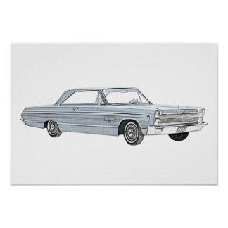 Plymouth Fury 1965 Poster