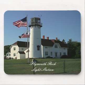 Plymouth Light Station Mouse Pad