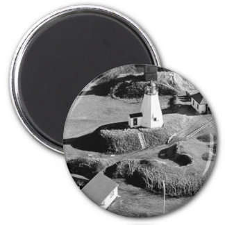 Plymouth Lighthouse Magnet