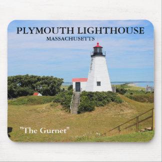 "Plymouth Lighthouse, ""The Gurnet"", MA Mousepad"