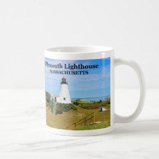 Plymouth Lighthouse, the Gurnet, Massachusetts Mug