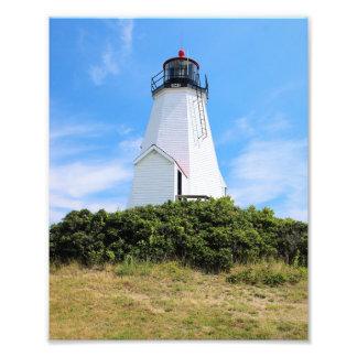 "Plymouth Lighthouse, ""the Gurnet"" Massachusetts Photo Print"