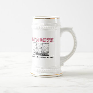Plymouth, MA Beer Stein