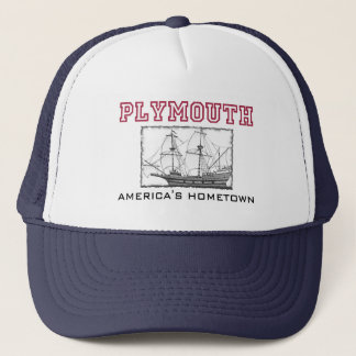 Plymouth, MA Trucker Hat