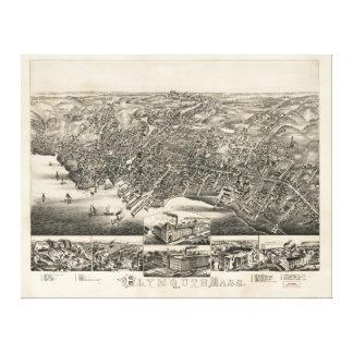 Plymouth Massachusetts (1882) Canvas Print
