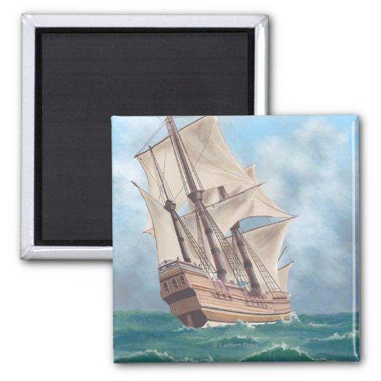 Plymouth, MassachusettsView of the Mayflower Magnet