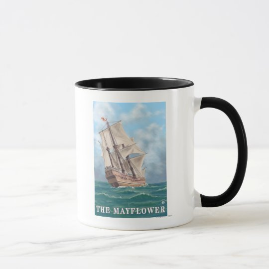 Plymouth, MassachusettsView of the Mayflower Mug