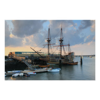 Plymouth Mayflower II Poster